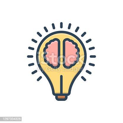 Icon for intelligence, sagacity, dexterity, idea, sapience, prudence, experience, understanding
