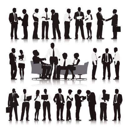 Interactive Business Organization clipart