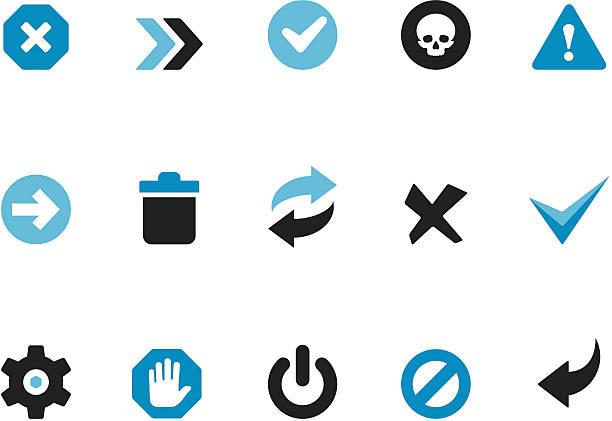 interface knöpfen/coolico symbole - schalter stock-grafiken, -clipart, -cartoons und -symbole
