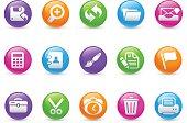 Interface Icons - Rainbow Series