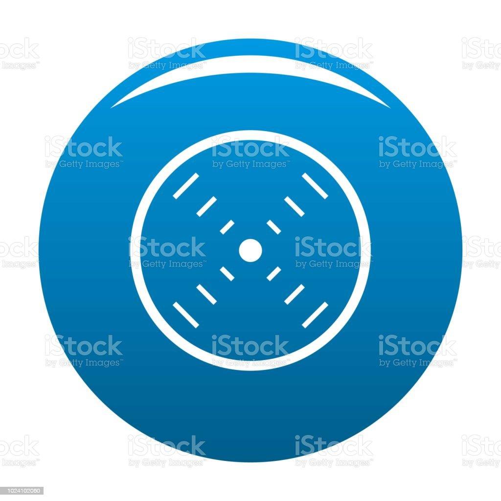 Schnittstelle Radar Icon Blau Vektor Stock Vektor Art Und Mehr