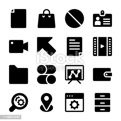 We are demonstrating awesome interface solid icons pack.Editable icons are here for your ease, don't waste time just grab.
