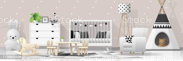 Interior background with modern baby bedroom vector illustration vector id1129650109?b=1&k=6&m=1129650109&s=612x612&h=8qdbus9osodkzbgu zwbr8lr5owaxondubfshyqecyq=