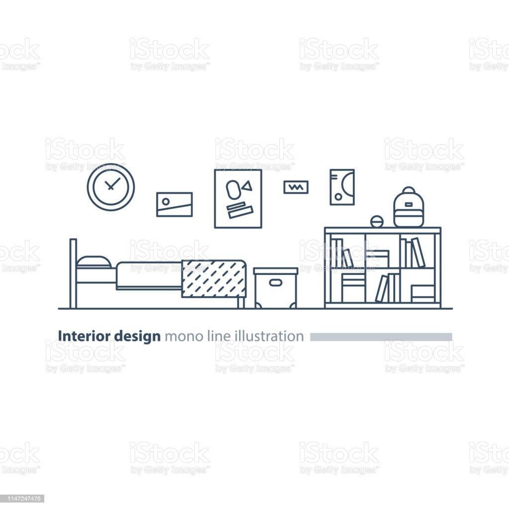 Interior Design Idea Bedroom Furniture Arrangement Plan Bed ...