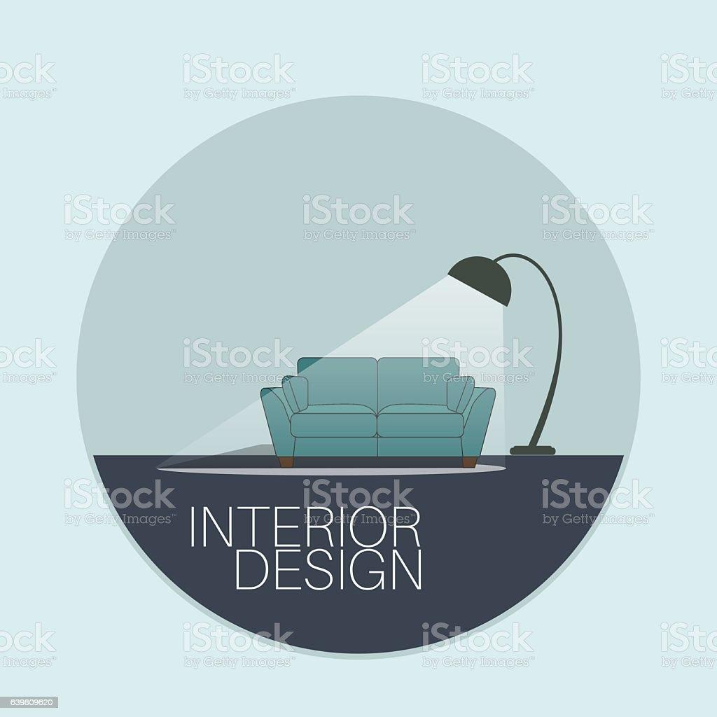 Interior Design Logo Stock Vector Art & More Images of Armchair ...