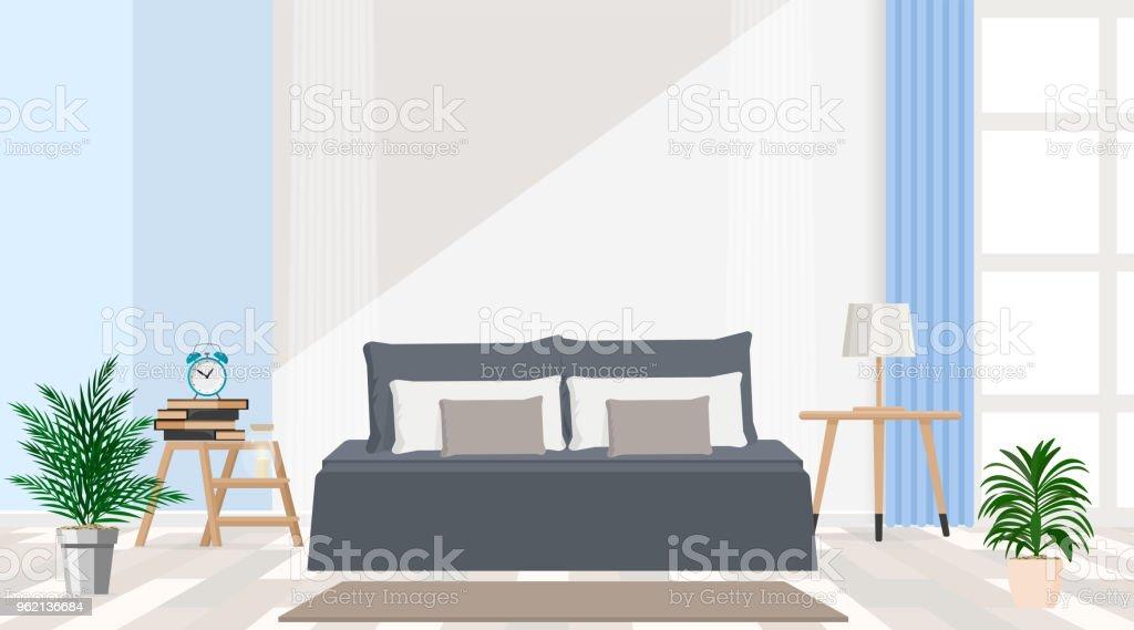 modernes interieur design farben, interior design moderne wohnungen in graublaue farbe großen, Design ideen