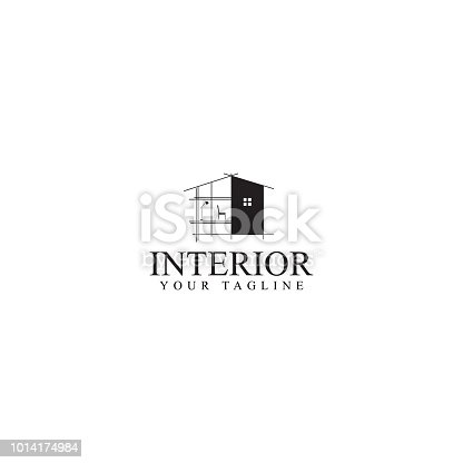 property design templates and building sketches. design furniture isolated white background