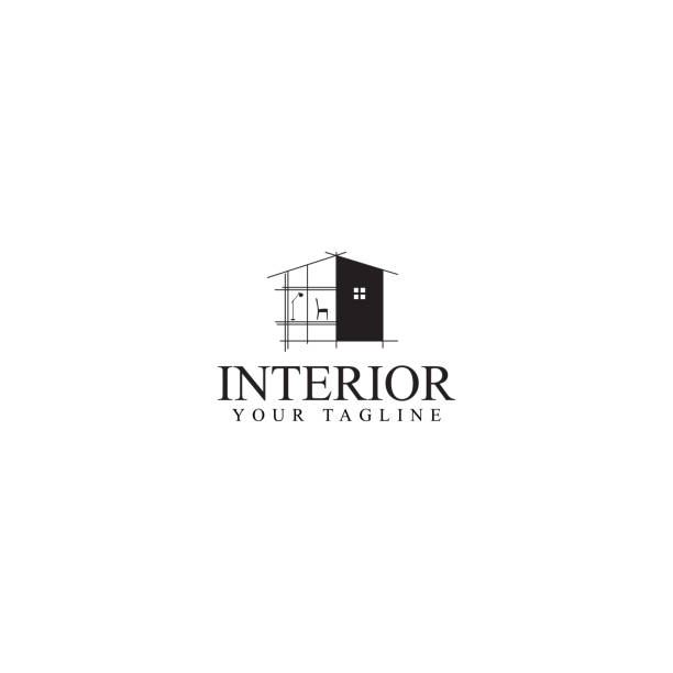stockillustraties, clipart, cartoons en iconen met interieur design - interior design