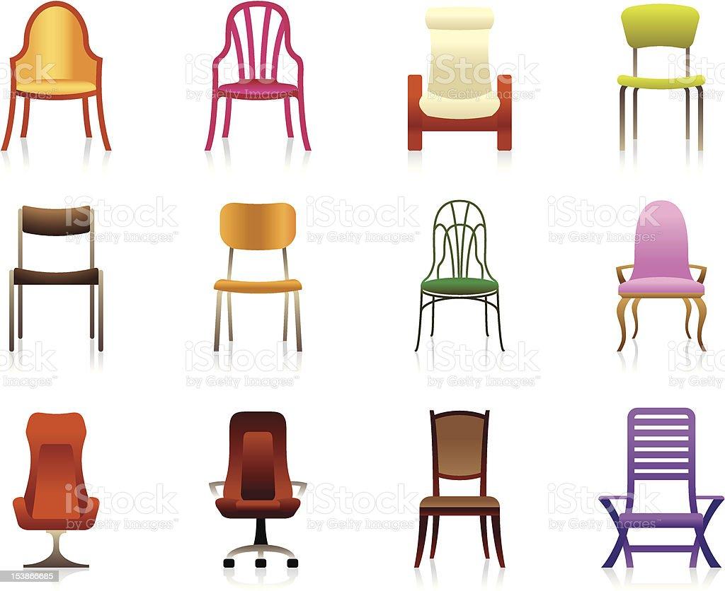Sedie In Plastica Stock.Interno Lusso Ufficio E Sedie Di Plastica Immagini Vettoriali