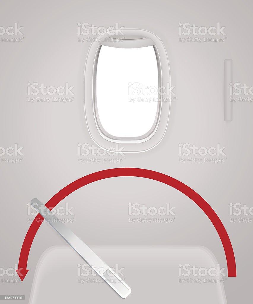 Intérieur De Lavion Avion Porte Fenêtre Hublot Voyage Par Avion