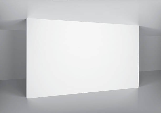 空の白い壁のインテリア - 美術館点のイラスト素材/クリップアート素材/マンガ素材/アイコン素材