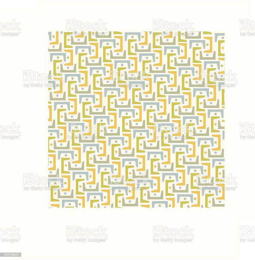 Interlink Pattern royalty-free stock vector art