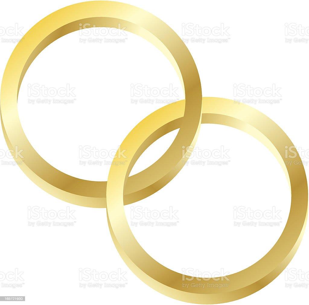 Interlocking Rings vector art illustration