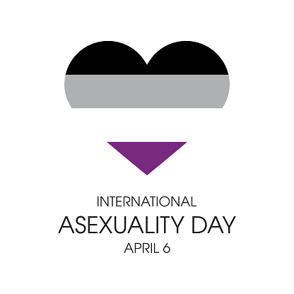 International Asexuality Day vector