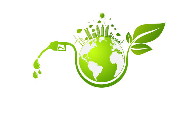 International Biodiesel Day.10 August.for Ecology and Environmental Help The World With Eco-Friendly Ideas,Vector Illustration vector art illustration