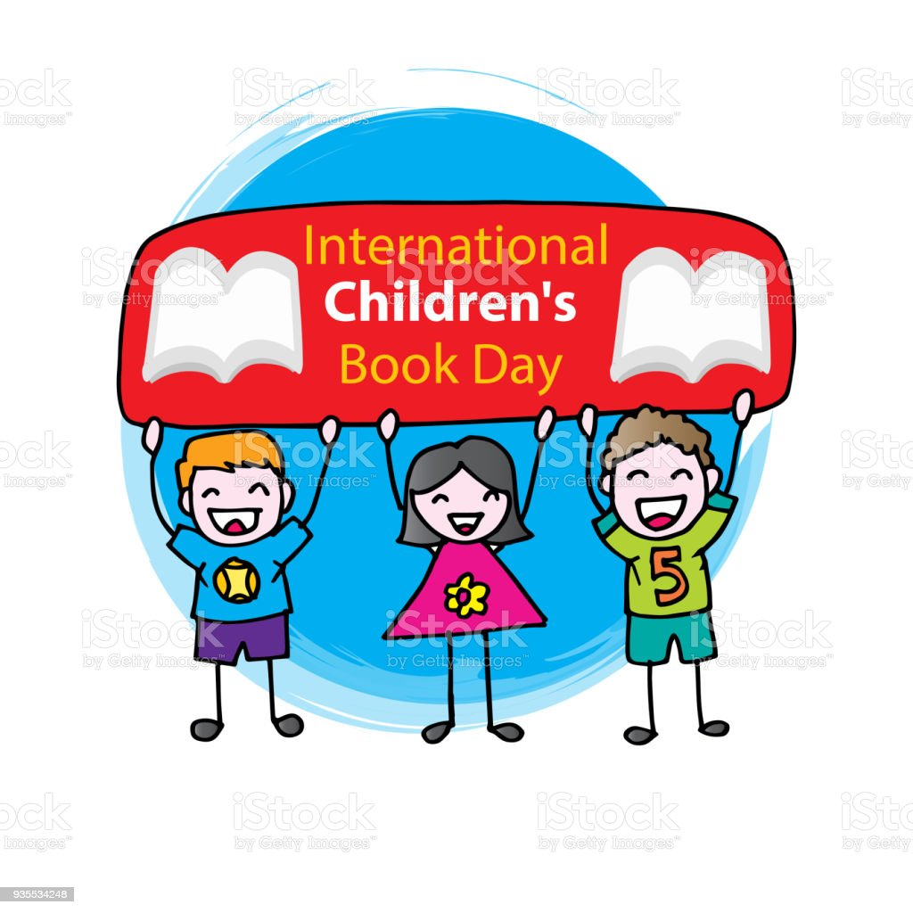 International Children Book Day concept.