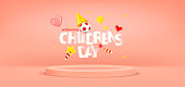 istock International Childrens day greeting card 1315859074
