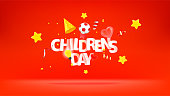 istock International Childrens day greeting card 1315861150
