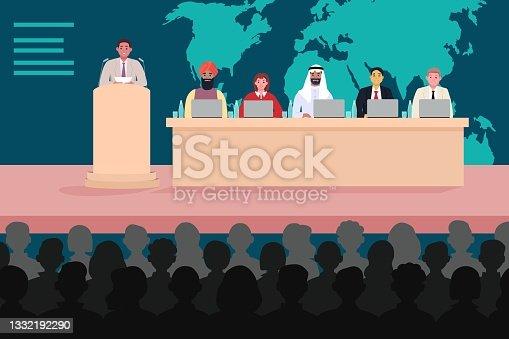 istock International conference, scientific forum congress briefing 1332192290