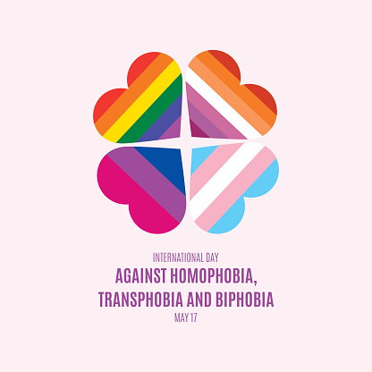 International Day Against Homophobia, Transphobia and Biphobia vector