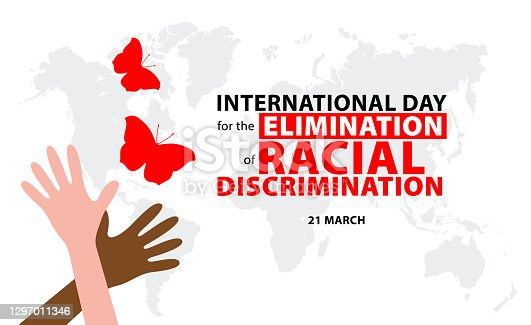 International Day for the Elimination of Racial Discrimination. Vector illustration