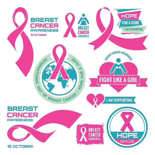 Top Royalty Free Breast Cancer Awareness Ribbon Clip Art, Vector  YI32