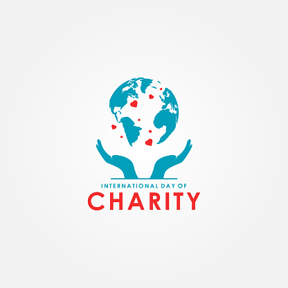 International Day of Charity Vector Design Template