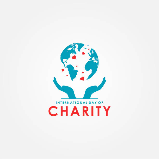International Day of Charity Vector Design Template vector art illustration