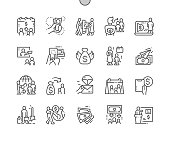 istock International Day of Family Remittances, IDFR Well-crafted Pixel Perfect Vector Thin Line Icons 30 2x Grid for Web Graphics and Apps. Simple Minimal Pictogram 1176060434