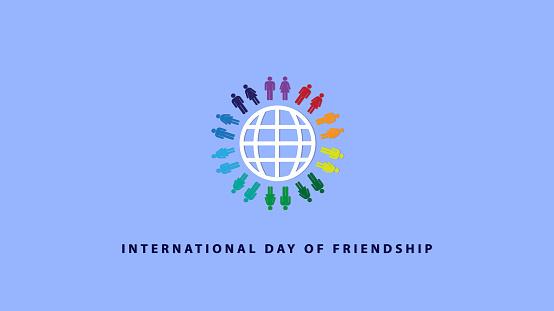 International Day of Friendship. Vector illustration.