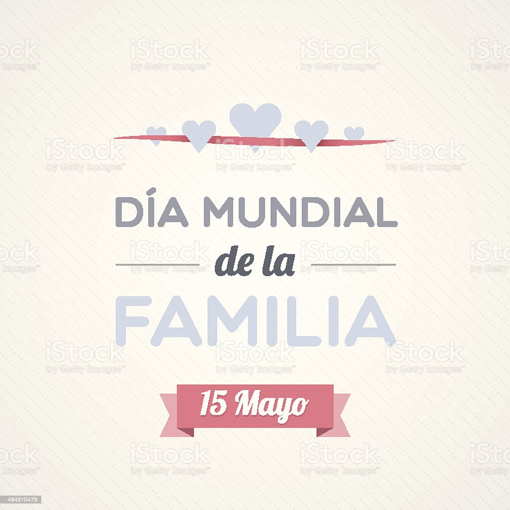 International Family Day in Spanish royalty-free international family day in spanish stock vector art & more images of adult