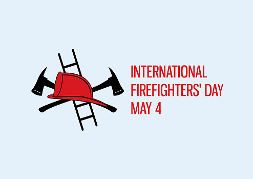 International Firefighters' Day vector