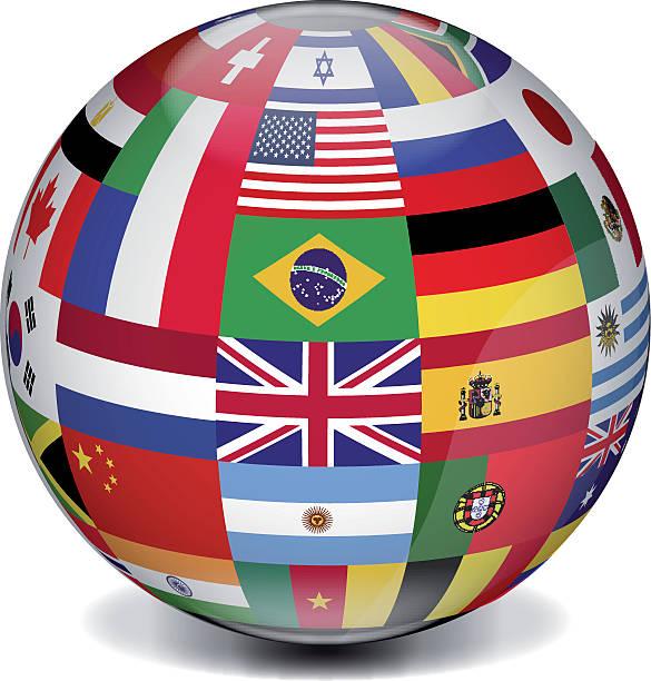ilustrações de stock, clip art, desenhos animados e ícones de globo internacional - mapa mundi