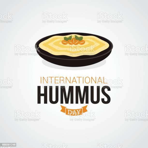 International hummus day vector illustration vector id688361246?b=1&k=6&m=688361246&s=612x612&h=cuquqjhmypd3hhj0k 3idr gb5s4aemw5p2hhecea0a=