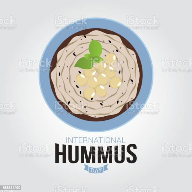 International hummus day vector illustration vector id688361250?b=1&k=6&m=688361250&s=612x612&h=daoojyc26un0qzxlaaqmt1 i epeui wdrdmi00h1hk=