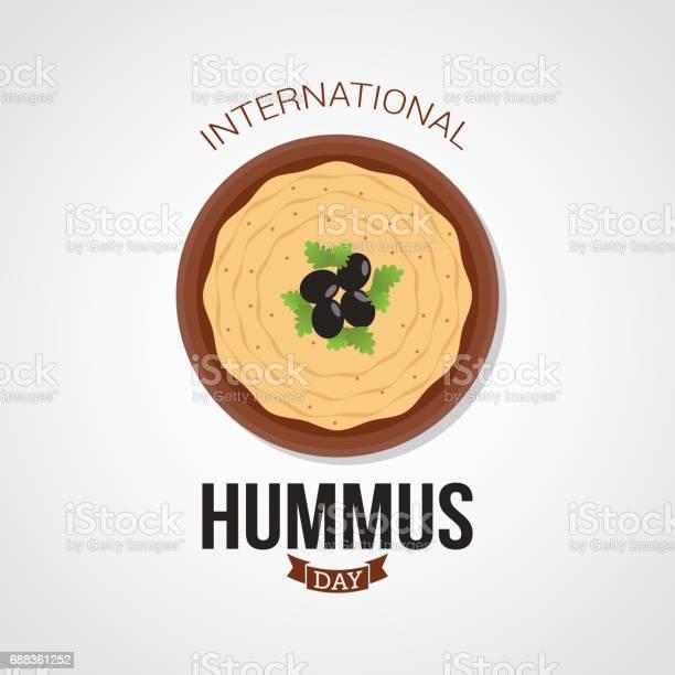 International hummus day vector illustration vector id688361252?b=1&k=6&m=688361252&s=612x612&h= 3yck79zwaa6tkxqra2bttf9fqfxctz6s pkpk8afa0=