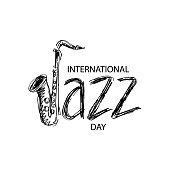 International jazz day concept