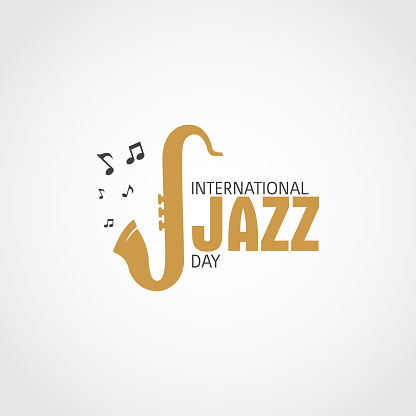 International Jazz Day Vector Illustration