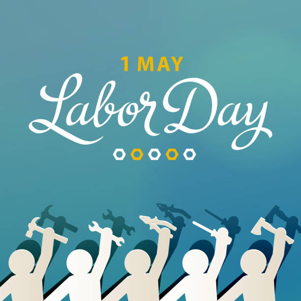international labor day 1st may - may day stock illustrations, clip art, cartoons, & icons