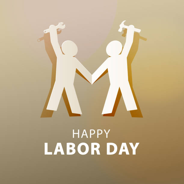 international labor day - may day stock illustrations, clip art, cartoons, & icons