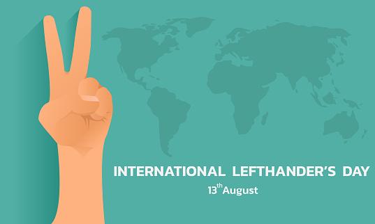 International lefthanders Day.
