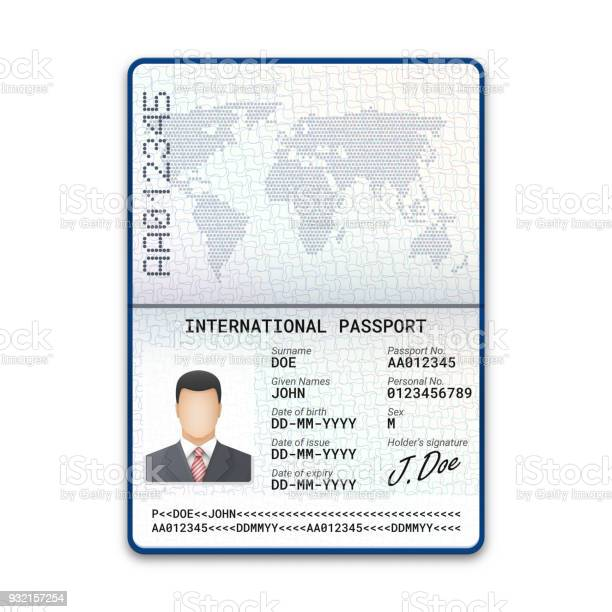 International male passport template with sample of photo signature vector id932157254?b=1&k=6&m=932157254&s=612x612&h=3r71uprgy1cuubqr65i bdsesc0arorp8k n1hieiug=