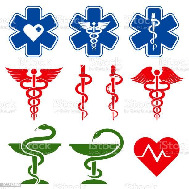 International medical pharmacy and emergency care vector symbols vector id905843880?b=1&k=6&m=905843880&s=612x612&h=kddfl2srxesc468xh0ns3fvkr2jibzfe126wg 86l i=