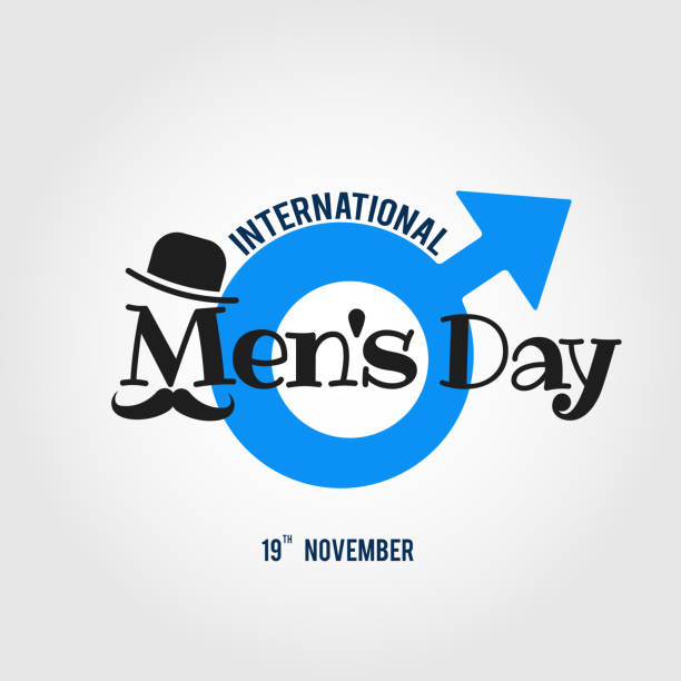 International Men's day Vector illustration on the theme International Men's Day. For a poster or banner and greeting card. day stock illustrations