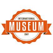 International Museum Day Label