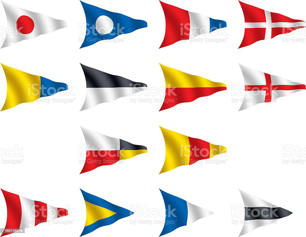 International Nautical Signal Flags royalty-free international nautical signal flags stock vector art & more images of blue
