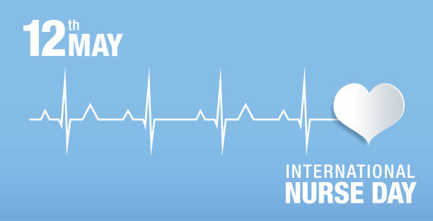 international nurse day banner layout design vector art illustration