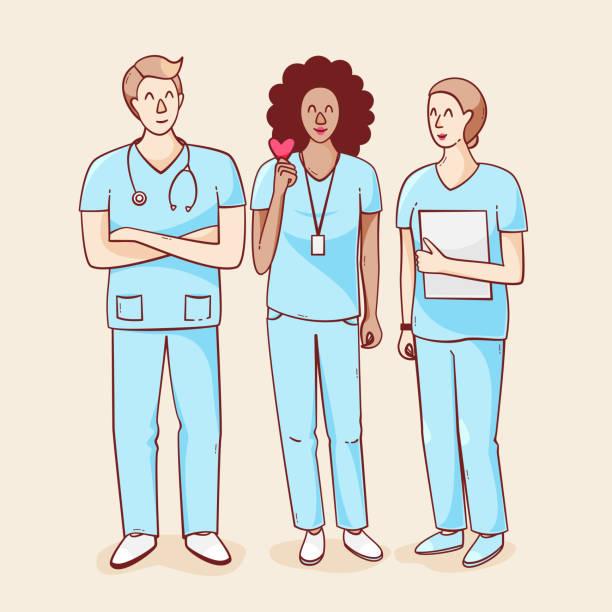 internationaler krankenschwester-tag - pflegekraft stock-grafiken, -clipart, -cartoons und -symbole