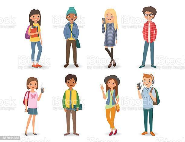 International students with books phones and backpacks vector id637644366?b=1&k=6&m=637644366&s=612x612&h=6cb8kfokoh1s5n9am c9 kv1qbmdgt1j1w5zp 9uod0=