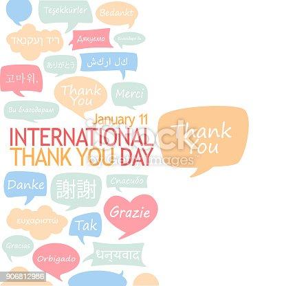 istock International Thank You Day. 906812986
